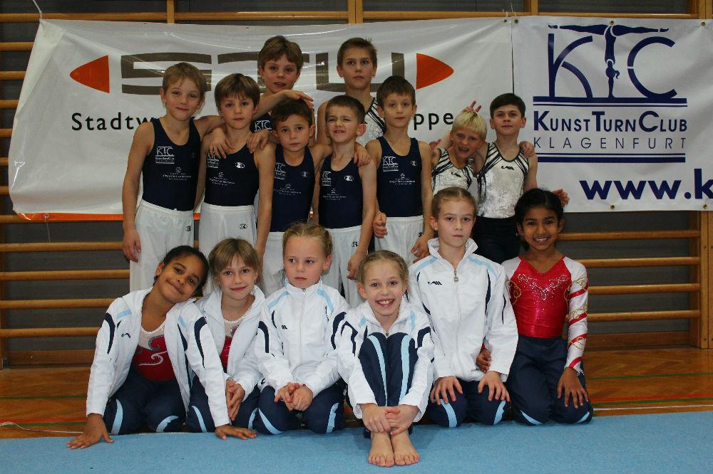 6. Int. Kids Cup, 29.11.2015 Siegerehrung